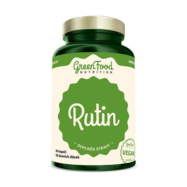 Zobrazit detail výrobku GreenFood Nutrition Rutin 60 kapslí