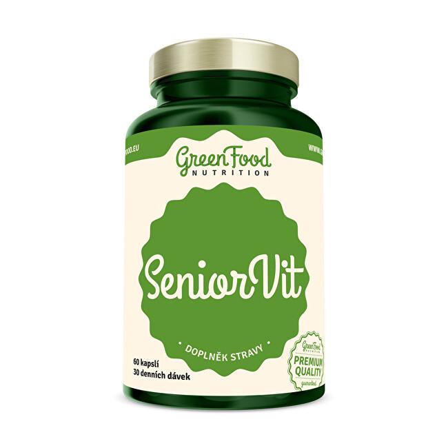 Zobrazit detail výrobku GreenFood Nutrition SeniorVit 60 kapslí
