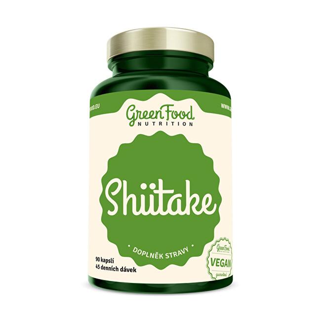 Zobrazit detail výrobku GreenFood Nutrition Shiitake extract 90 kapslí