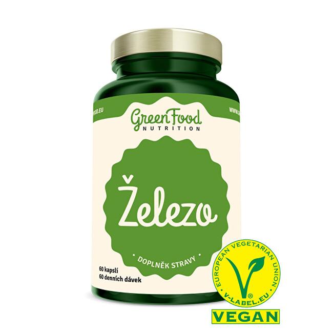 Zobrazit detail výrobku GreenFood Nutrition Železo 60 kapslí