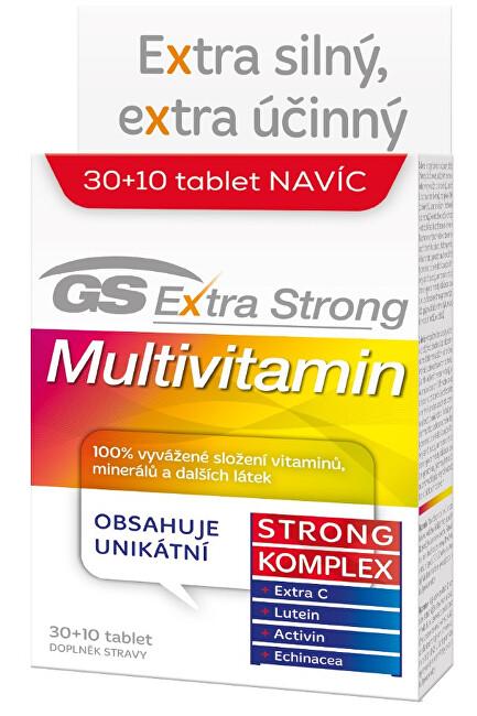 Zobrazit detail výrobku Green-Swan GS Extra Strong Multivitamin 30+10 tablet