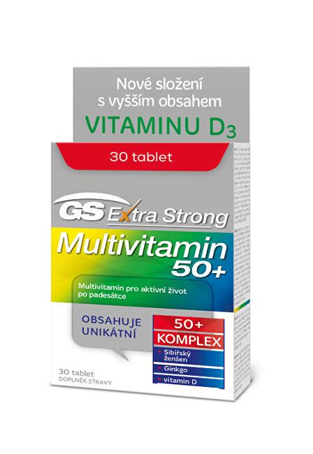 Zobrazit detail výrobku Green-Swan GS Extra Strong Multivitamin 50+, 30 tablet