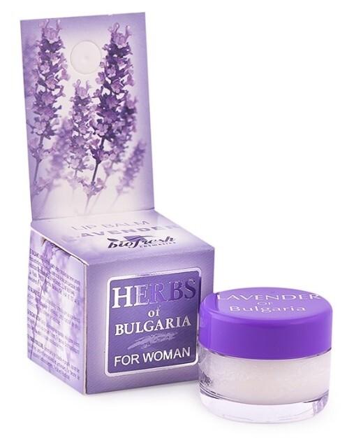Zobrazit detail výrobku HERBS OF BULGARIA - LAVENDER Balzám na rty z levandule 5 ml