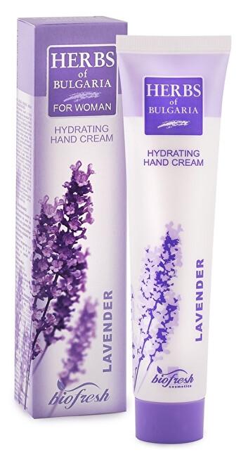 Zobrazit detail výrobku HERBS OF BULGARIA - LAVENDER Hydratační krém na ruce z levandule 75 ml