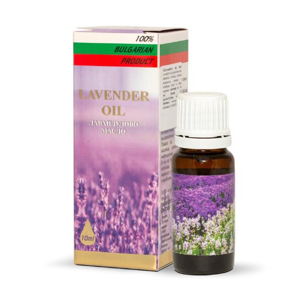 Zobrazit detail výrobku HERBS OF BULGARIA - LAVENDER Levandulový olej Roza Invest Kapital olej 10 ml