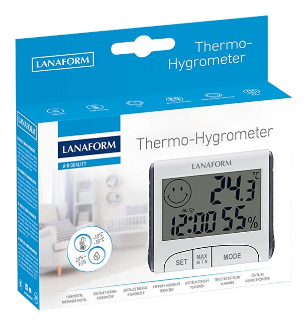Zobrazit detail výrobku Lanaform Thermo-Hygrometer digitální teplo-vlhkoměr