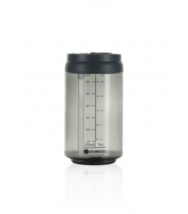 Zobrazit detail výrobku LES ARTISTES Cestovní láhev 330 ml Transparent Dark Grey