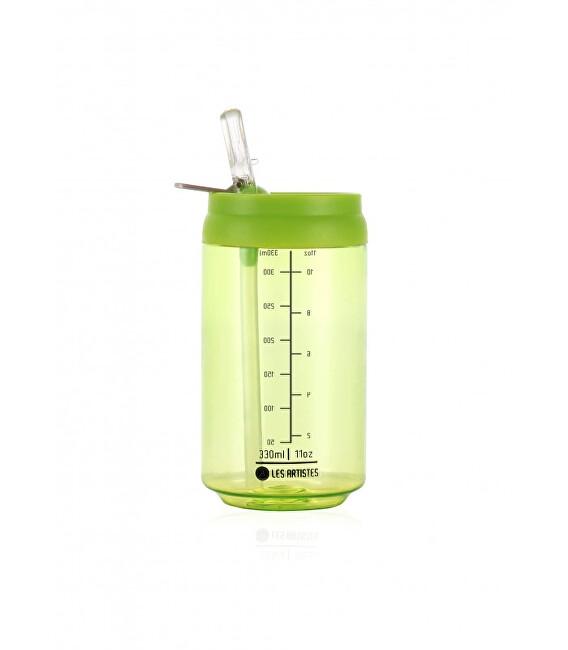 Zobrazit detail výrobku LES ARTISTES Cestovní láhev 330 ml Transparent Green