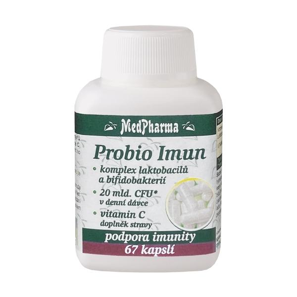 Zobrazit detail výrobku MedPharma Probio Imun – komplex laktobacilů a bifidobakterií 67 kapslí