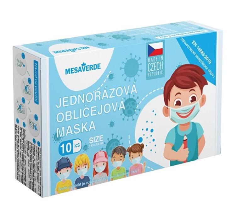 Zobrazit detail výrobku Mesaverde Jednorázová rouška chlapecká 10 ks
