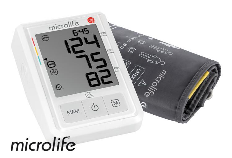Zobrazit detail výrobku Microlife BP B3 AFIB automatický tlakoměr na rameno