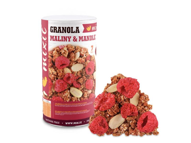 Zobrazit detail výrobku Mixit Granola z pece - Maliny a mandle 440 g