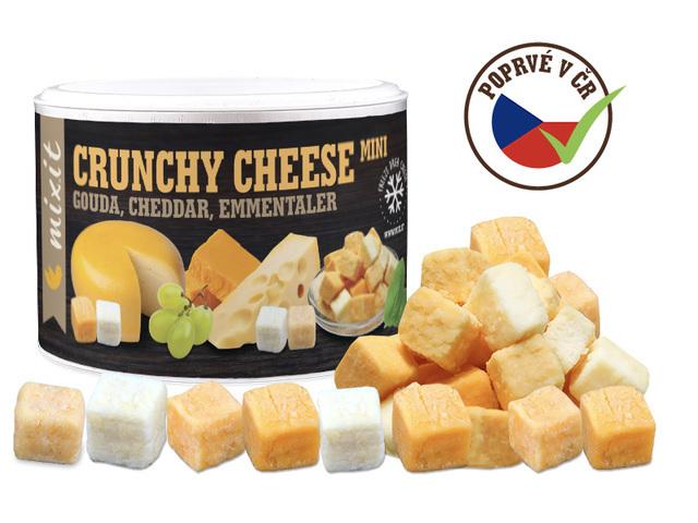Zobrazit detail výrobku Mixit Mix křupavých sýrů: Gouda, Čedar, Ementál 135 g