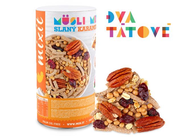 Zobrazit detail výrobku Mixit Pečený Mixit - Slaný karamel & pekany 470 g