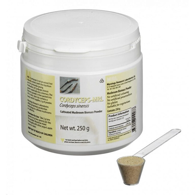 Zobrazit detail výrobku MRL MRL, Cordyceps Sinensis, biomasa 250 g