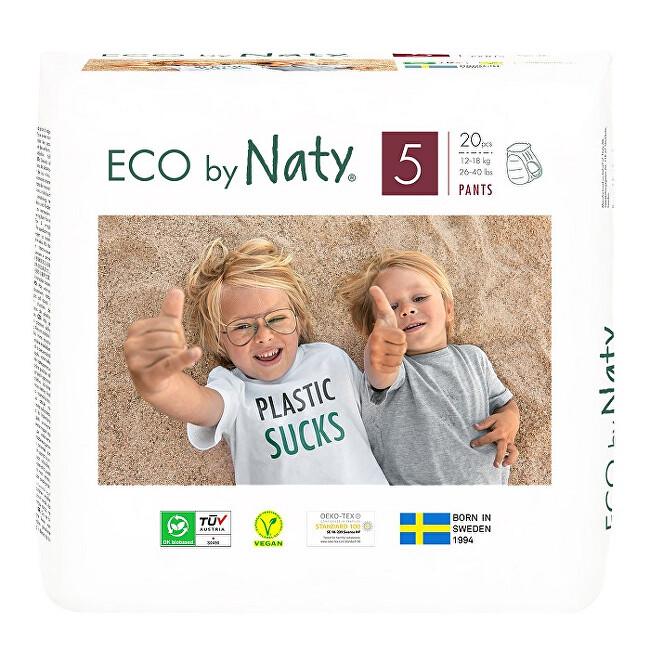 Zobrazit detail výrobku Eco by Naty Natahovací plenkové kalhotky Naty Junior 12 - 18 kg 20 ks