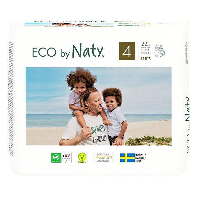 Zobrazit detail výrobku Eco by Naty Natahovací plenkové kalhotky Naty Maxi 8 - 15 kg 22 ks