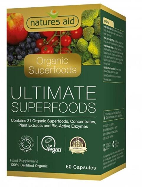 Zobrazit detail výrobku Natures Aid Extrakty superpotravin a enzymů 60 tablet