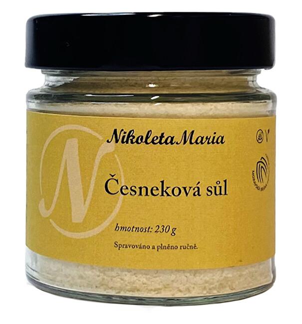 Zobrazit detail výrobku Nikoleta-Maria Česneková sůl 230 g