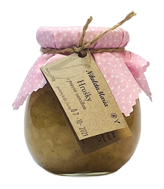 Zobrazit detail výrobku Nikoleta-Maria Hruška s pravou vanilku 250 g