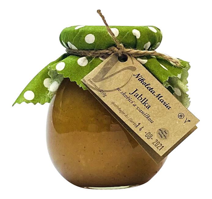 Zobrazit detail výrobku Nikoleta-Maria Jablka se skořicí a pravou vanilkou 250 g
