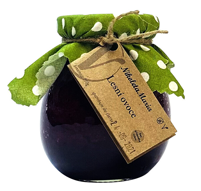 Zobrazit detail výrobku Nikoleta-Maria Lesní ovoce 250 g