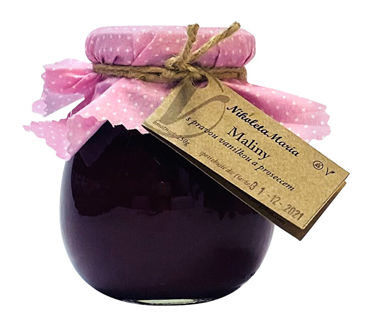 Zobrazit detail výrobku Nikoleta-Maria Malina s vanilkou a proseccem 250 g