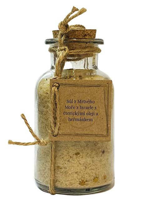Zobrazit detail výrobku Nikoleta-Maria Sůl zmrtvého moře séterickými oleji a heřmánkem 300 g