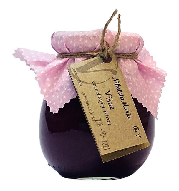 Zobrazit detail výrobku Nikoleta-Maria Višeň s mandlovým likérem 250g