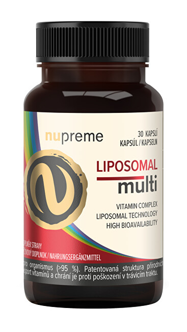Nupreme Liposomal Multivitamín 30 kapslí