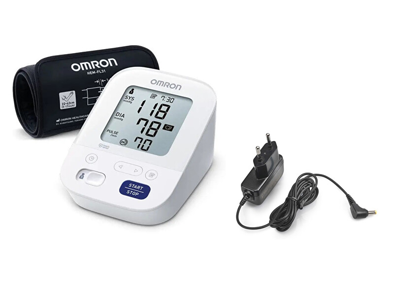 Zobrazit detail výrobku Omron Tonometr OMRON M3 Comfort(2020)+adaptér