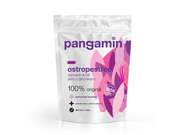 Pangamin ostropestřec 200 tbl. sáček