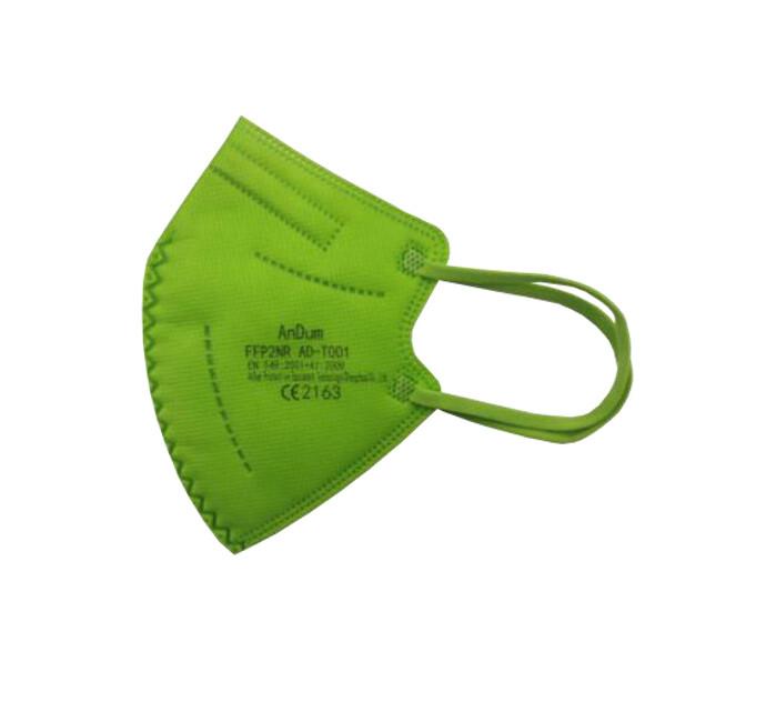Zobrazit detail výrobku Pharma Activ Respirátor FFP2 NR AnDum pro děti, zelený
