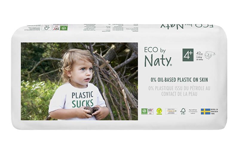 Zobrazit detail výrobku Eco by Naty Plenky Naty Maxi+ 9-20 kg - ECONOMY PACK 42 ks