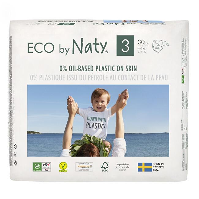 Zobrazit detail výrobku Eco by Naty Plenky Naty Midi 4 - 9 kg 30 ks
