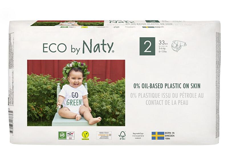 Zobrazit detail výrobku Eco by Naty Plenky Naty Mini 3 - 6 kg (33 ks)