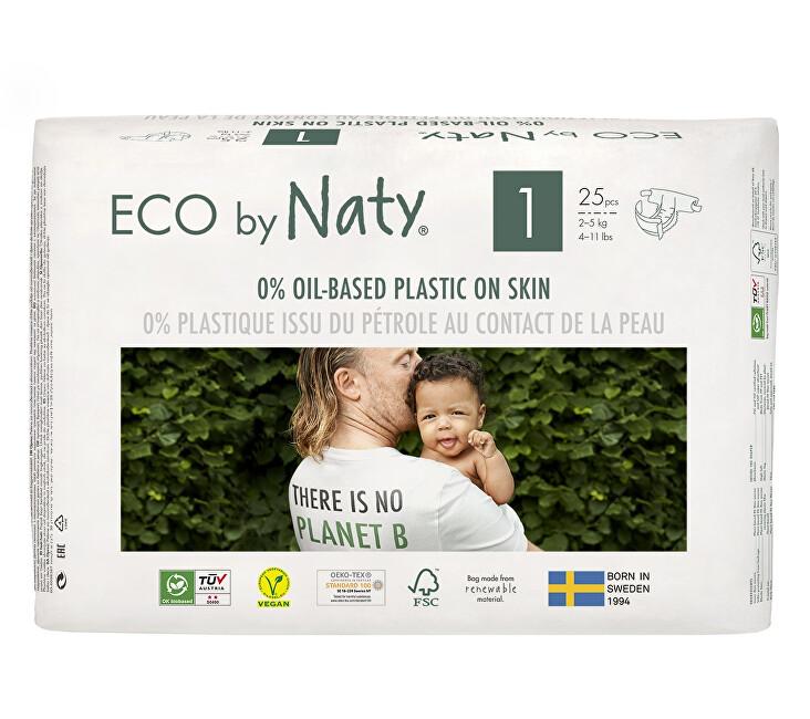 Zobrazit detail výrobku Eco by Naty Plenky Naty Newborn 2 - 5 kg (25 ks)
