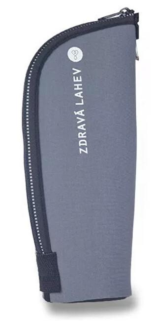 Zobrazit detail výrobku R&B Zdravá lahev Termoobal - Termo CABRIO reflex Antracit 0,7 l