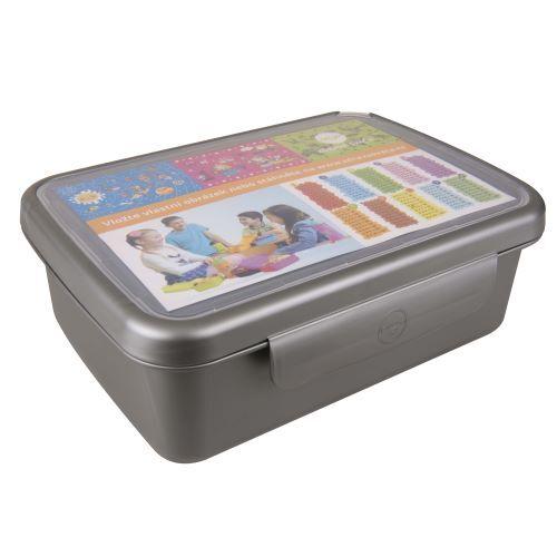 Zobrazit detail výrobku R&B Zdravá sváča komplet box - barva šedá