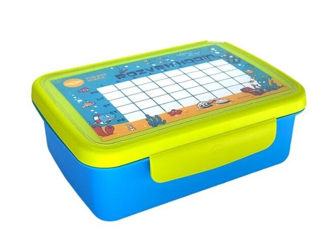 Zobrazit detail výrobku R&B Zdravá sváča komplet box - Modrá/zelená