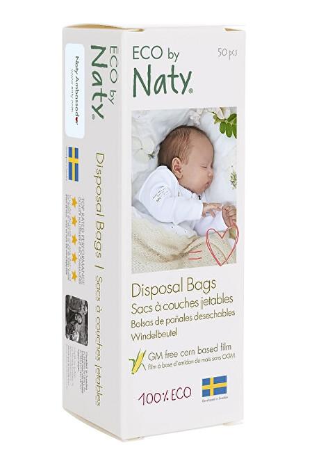 Zobrazit detail výrobku Eco by Naty Sáčky na plenky bez vůně 50 ks