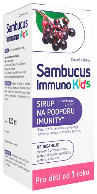 Zobrazit detail výrobku Sambucus Immuno Kids Sambucus Immuno Kids sirup 120 ml