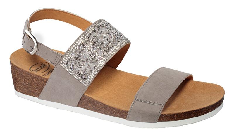 Zobrazit detail výrobku Scholl Zdravotní obuv- CECILIA SAND MicroStrass-W - Grey 38