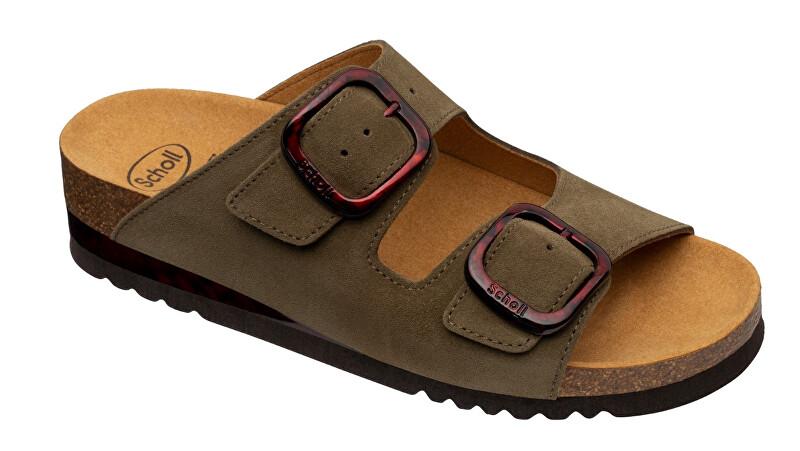 Zobrazit detail výrobku Scholl Zdravotní obuv - ILARY 2 STRAPS Sue-W - Olive 37