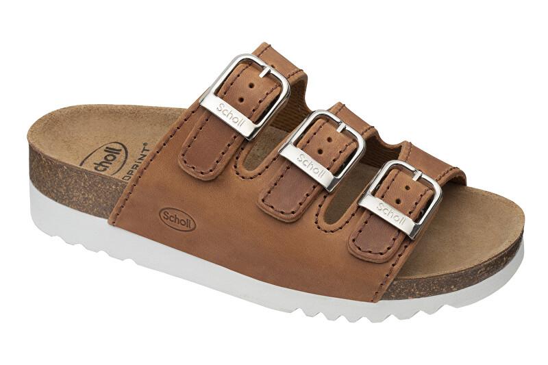 Zobrazit detail výrobku Scholl Zdravotní obuv - RIO WEDGE AD OilLea-W - Cognac 37