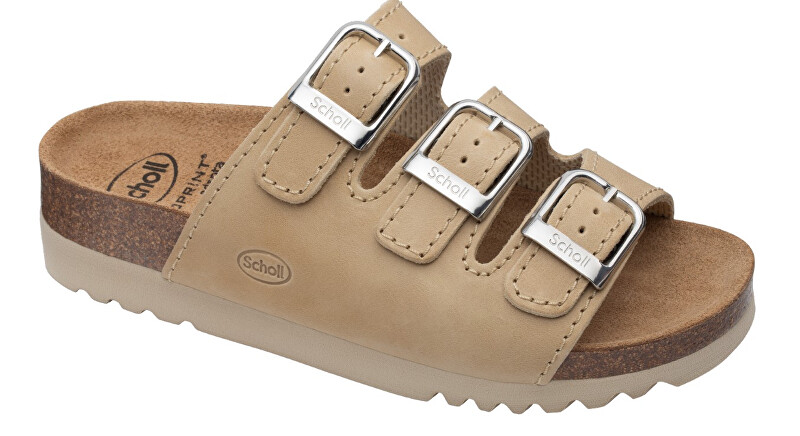 Zobrazit detail výrobku Scholl Zdravotní obuv - RIO WEDGE AD OilLea-W - Natural 42