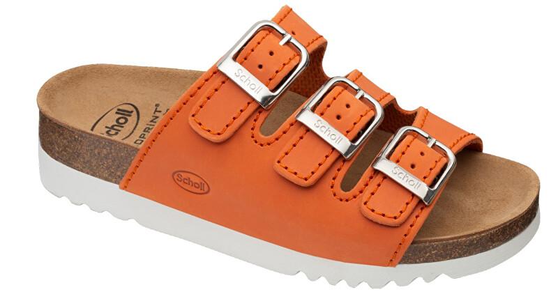 Zobrazit detail výrobku Scholl Zdravotní obuv - RIO WEDGE AD OilLea-W - Orange 38