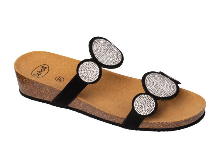 Zobrazit detail výrobku Scholl Zdravotní obuv - SHARON 2 STR MicroStrass-W - Black 39