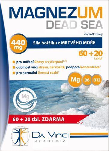 Zobrazit detail výrobku Simply You Magnezum Dead Sea Da Vinci Academia 80 tablet