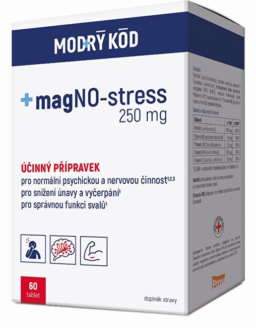 Zobrazit detail výrobku Simply You magNO-stress 250 mg MODRÝ KÓD 60 tablet